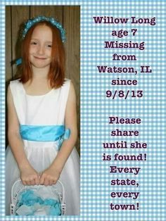 Aww this was quite a while ago so if not found Idk If she is alive! If she is found that is very good! Just wanted to repost in love ❤️