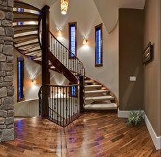ahhh I love this stair case:)