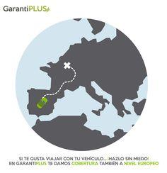 Si te gusta viajar, despreocúpate de las #averías. ¡En @Garantiplus te damos #Garantía #Mecánica también a nivel europeo! ¡Feliz Día Mundial del Turismo! #Turismo #DiaMundialDelTurismo #CoberturaEuropea