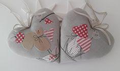 Christmas Crafts, Xmas, Christmas Ornaments, Cushion Tutorial, Heart Pillow, I Love Heart, Diy Home Crafts, Handmade Toys, Baby Shoes