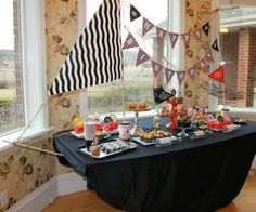Qué cosas haces: Decoración de mesas para cumpleaños - Table Decorations for Birthdays