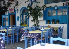 "Love the ""Greek blue""!"
