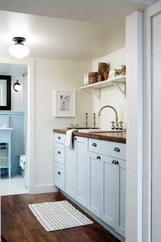 Bright Basement Laundry Room   House & Home