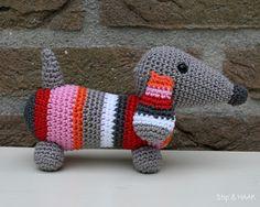 Mesmerizing Crochet an Amigurumi Rabbit Ideas. Lovely Crochet an Amigurumi Rabbit Ideas. Love Crochet, Crochet Gifts, Diy Crochet, Crochet Dolls, Crochet Mignon, Confection Au Crochet, Crochet Amigurumi Free Patterns, Dog Pattern, Crochet Animals
