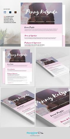 Kalynda Resume Template resume template brings together the perfect balance of creativity and functionality. Cv Template, Resume Templates, Design Templates, Positive Words, Positive Quotes, Effective Resume, Resume Tips, Cv Tips, Basic Resume