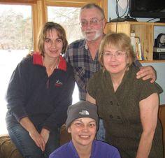 Tom, Kathy, Linnea and Deb Christmas 2011 — with Deb Zins.