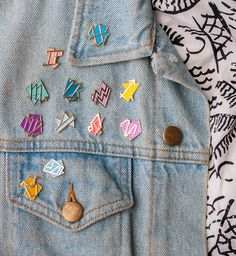 zodiac pins!!! #want