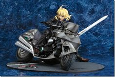 Figma - Zero Saber on Motorcycle