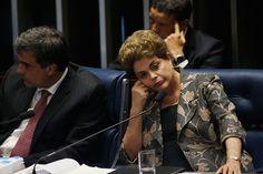 "Permohonan Dilma Rousseff terhadap proses impeachment bahwa dia menyamakan dengan ""hukuman mati"" politik gagal untuk bergoyang senator, dengan anggota parlemen di kedua sisi lorong meng…"