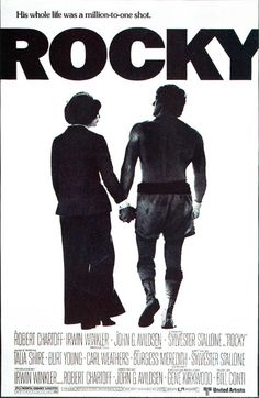 Rocky movie poster, have a copy in my office.