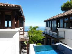 Pool with a view of the Atlantic ocean-Cape Town