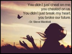 Cheating Sucks