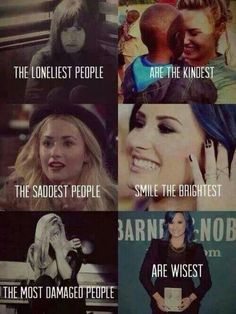 Demi Lovato… so true