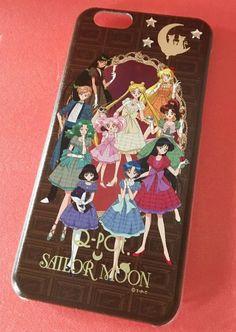 Sailor Moon Qpot Q-pot Usagi Chibiusa Praline Planet iPhone 6 6s case Japan F/S #Qpotcafe