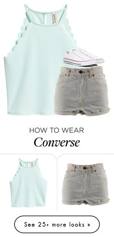 """""""Untitled #3230"""" by laurenatria11 on Polyvore featuring Levi's and Converse"""