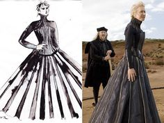 Sandy Powell. Costume designer extraordinaire.