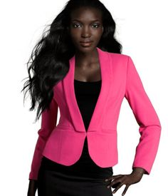 Need this Cerise Blazer from H&M!