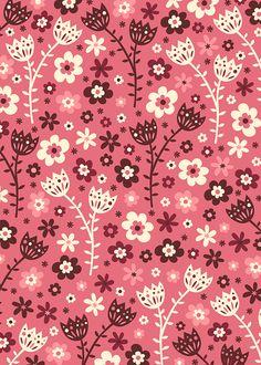 Secret Forest by Anna Deegan, via Behance Flower Pattern Design, Surface Pattern Design, Pattern Art, Pattern Paper, Flower Patterns, Cute Backgrounds, Cute Wallpapers, Wallpaper Backgrounds, Cellphone Wallpaper