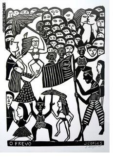 José Francisco Borges | Indigo Arts Indigo, Artist At Work, Contemporary Art, Carnival, Folk, Art Gallery, African, Prints, Mermaids