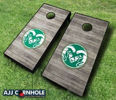 Officially Licensed Colorado State Set. Show off your Ram pride at your next cookout or tailgate! www.ajjcornhole.com