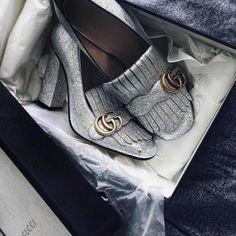 luvrumcake:  Gucci Metallic Silver