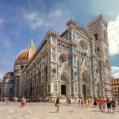 Florencja - Katedra Santa Maria del Fiore / Cathedral of Saint Mary of the Flower (Basilica Santa Maria del Fiore), Florence