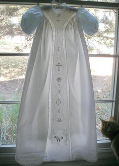 Christening gown for boy- Martha B