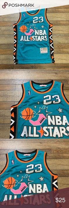 85e5829fba1 Michael Jordan Chicago Bulls All Star Jersey 1996 Perfect Condition Men's  Size Small Michael Jordan Bulls