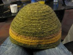 Naalbinding hat by Lisa from the group Allskonar
