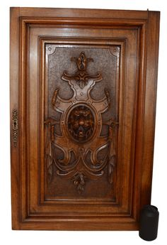 Unique Hand Carved Cabinet Doors