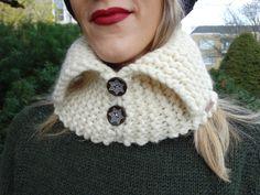 New to LittleGemsByLuisa on Etsy: White Unisex Scarf - White Neck Warmer - Hand Knit Neck Warmer - White Scarf - White Turtle Neck - Handmade Neck Warmer - Men Gift (22.00 USD)