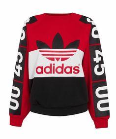 Topshop x Adidas Originals - Topshop x Adidas Originals - Vogue Nederland Fast Fashion, Vogue Fashion, Mens Fashion, Fashion Outfits, Fasion, Adidas Originals, Vogue Uk, Pull Adidas Vintage, Topshop