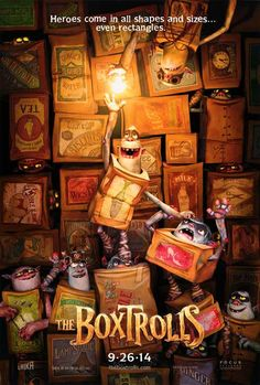 The Boxtrolls 27x40 Movie Poster (2014)