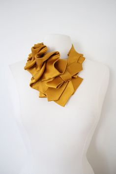 We are getting romantic with some Satin. Offered as a made to order item, we can take custom color requests! Each piece is hand tailored and draped to create elegant forms that snap on and off with ease. Tie Crafts, How To Make Scarf, African Home Decor, Ribbon Jewelry, Turban Style, Family Crafts, Weird And Wonderful, Recycled Art, Diy Fashion