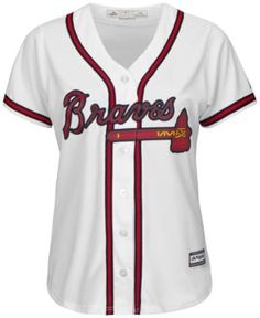 Majestic Women's Atlanta Braves Jersey - White XXL