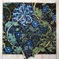 Seaweed wallpaper design (1901) by John Henry Dearle for Morris & Co.