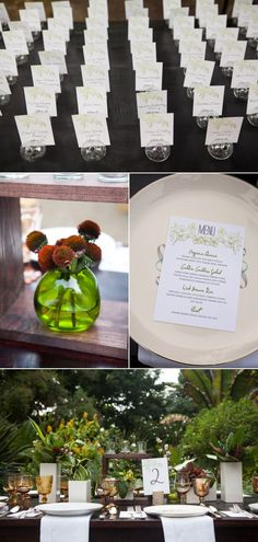 San Diego Botanical Garden Wedding from Isari Floral Studio
