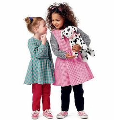 Girls' Dress Pattern Girls' Jumper Pattern Girls' Top by blue510