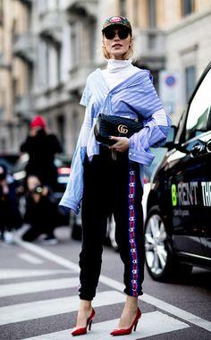 Die coolsten Streetstyle Looks der Fashionweek zum Nachstylen