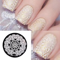Here is a tutorial for an interesting Christmas nail art Silver glitter on a white background – a very elegant idea to welcome Christmas with style Decoration in a light garland for your Christmas nails Materials and tools needed: base… Continue Reading → Nail Art Designs, Heart Nail Designs, Nails Design, Cat Tiger, Gel Nails, Acrylic Nails, Nail Polish, Born Pretty, Nail Art Images