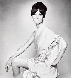 A dream of #Couture by #Valentino! Sporting the Spring-Summer 1969 #AudreyHepburn is wrapped in a wide light-colored #scarf with crocheted fringe and #tassels published in @VogueItalia July 1969. Gian Paolo Barbieri. To get a a rare copy signed by the legendary #ValentinoGaravani go to tsc.hn/00325in and secure your most fashionable asset to your bookshelf. #ootd #hepburn