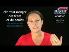 Vouloir (to want) — Present Tense (French verbs conjugated by Learn French With Alexa) - YouTube