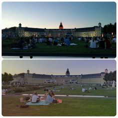 Picknick during the day and the amazing illumination of the palace afterwards. During The Day, Palace, Dolores Park, Louvre, Celebrities, Building, Amazing, Travel, Karlsruhe
