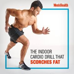 Meet the explosive #cardio move you need to try. #running http://www.menshealth.com/fitness/eow-sprinter?cid=soc_pinterest_content-fitness_july14_indoorcardiodrill