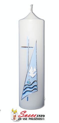 Baptism Candles from www.Svece.INFO