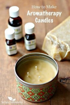 Scratch Mommy shares a recipe for DIY Aromatherapy Candles and also shares the health benefits of a variety of essential oils. These make a great gift! Scratch Mommy shares a recipe Homemade Candles, Homemade Gifts, Diy Candles Easy, Diy Candles Scented, Diy Gifts For Mom, Diy Aromatherapy Candles, Diy Candles Essential Oils, Beeswax Candles, Aromatherapy Products