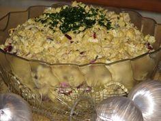 Bożonarodzeniowa sałatka ze śledziem - zdjęcie 2 Polish Recipes, Polish Food, Potato Salad, Mashed Potatoes, Seafood, Food And Drink, Fish, Cooking, Ethnic Recipes