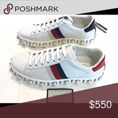 Gucci sneakers Do not ask authentic !!! Posh mark does verification for free so don't ask !! Gucci Shoes Sneakers