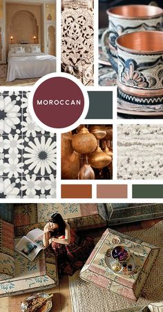 Your Ultimate Guide to Interior Design Styles: Moroccan- Rich colors, exquisite furnishings, all while being comfortable and inviting. Sound good? Then look to Morocco for your design inspiration. And while we can't necessarily build a riad in the middle