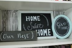 Homey Home Design #signmaking #signs